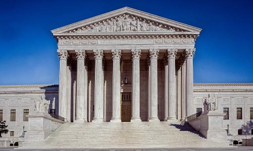The U.S. Supreme Court building in Washington, DC.
